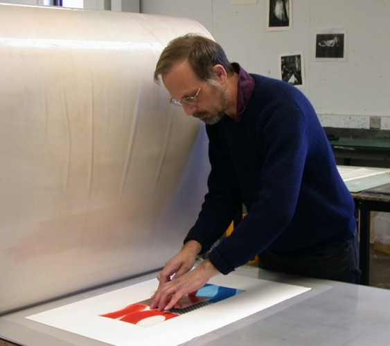 Alan printmaking