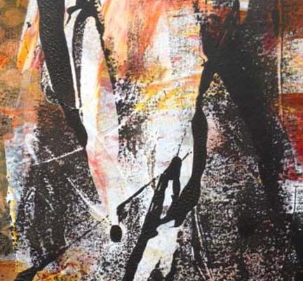 Beneath the Surface monoprint-9