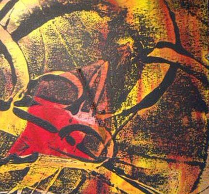 Beneath the Surface monoprint-14
