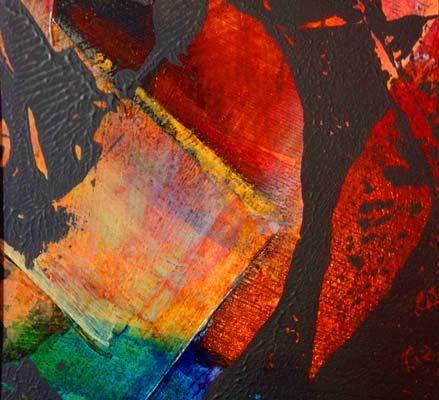 Beneath the Surface monoprint-5